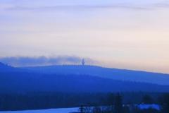 10 Blick auf den Schneeberg im Winter