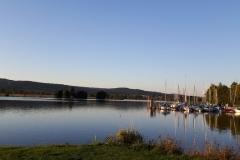 12 Segelboote auf dem Weißenstädter See