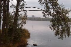 7 Blick auf Weißenstadt über den See im Sommer