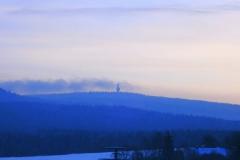 5.2.Blick auf den Schneeberg im Winter